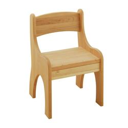 BioKinder - Das gesunde Kinderzimmer Stuhl Levin, für Kinder, Sitzhöhe 30 cm beige