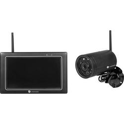Smartwares CMS-31098 Funk-Überwachungskamera-Set mit 1 Kamera 1280 x 720 Pixel 2.4GHz