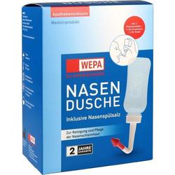 WEPA Nasendusche mit 10x2.95g Nasenspülsalz