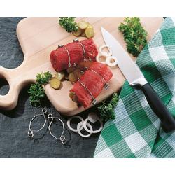 Ruco Küchenhelfer-Set, (Rouladenklammern), Made in Germany silberfarben Weitere Koch- und Backhelfer Kochen Backen Haushaltswaren Küchenhelfer-Sets