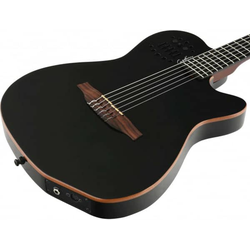 GODIN ACS Slim Nylon Black HG - Konzertgitarre