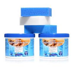 AQUA CLEAN PUR Kristallglanz Leder-Balsam mit Lederduft 2x 420g, 5tlg.