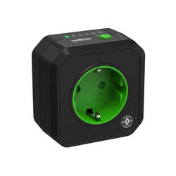 ANSMANN® Timer-Steckdose Schaltbare Energiesparsteckdose Countdown Zeitgesteuert Funksteckdose (Kabellänge 0 m)