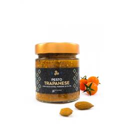 Pesto Trapanese, Glas, 190 g - Komoosee
