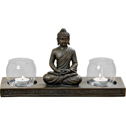 BOLTZE Windlicht Buddha