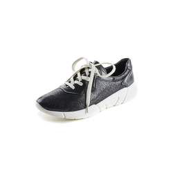 Avena Damen Sneakers Schwarz einfarbig 36, 37, 38, 39, 40, 41, 42
