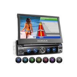 XOMAX Audio-System (XOMAX XM-DN763 1DIN Navi Autoradio mit GPS, SD, USB und BLUETOOTH)