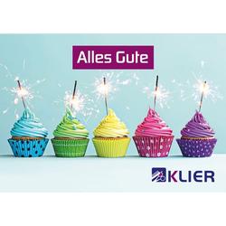 Frisör Klier Gutschein Trägerkarte Geburtstag
