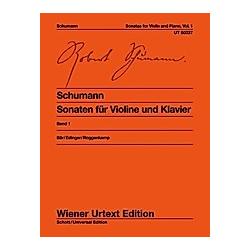Sonaten  für Violine und Klavier - Buch