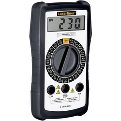 Laserliner MultiMeter Hand-Multimeter digital CAT III 300V Anzeige (Counts): 1999