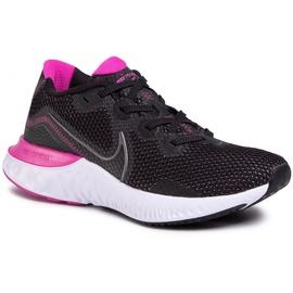 Nike Renew Run W black/white/fire pink/metallic dark grey 42