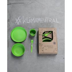 ajaa! Geschirr-Set ajaa! Geschirr-Set 4-teilig, made in germany, spülmaschinengeeignet, bruchsicher grün