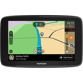 TomTom GO Basic Navigationssystem Fixed 15,2 cm (6 Zoll) Touchscreen 280 g Schwarz