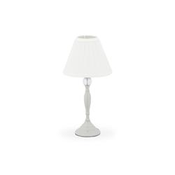 relaxdays Nachttischlampe Kristall Tischlampe grau