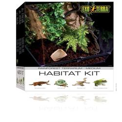 Exo Terra -  Rainforest Habitat Kit, Gr. M - 45 x 60 x 45 cm