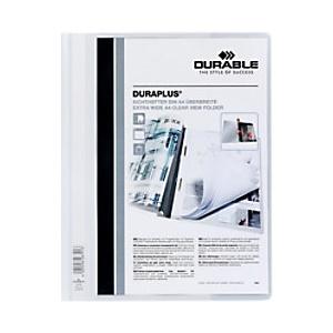 DURABLE Schnellhefter Duraplus DIN A4 Weiß PVC