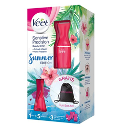 VEET Sensitive Precision Rasierer VP pink 1 St