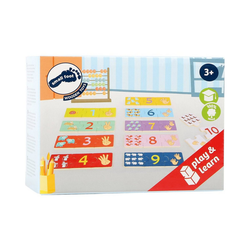 Small Foot Puzzle Lernpuzzle Zählen, Puzzleteile