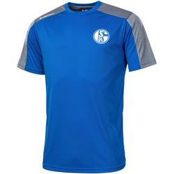 ALBATROS T-Shirt CLIMA PRO S04, Gr. S - XXXL, Schalke 04 blau XXXL