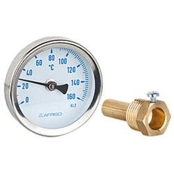 Thermometer DN 63 mm, Tauchhülse 1/2