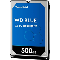 Western Digital WD Blue Mobile HDD-Notebook-Festplatte 2,5