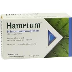 Hametum Hämorrhoiden Zäpfchen