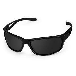 CHEREEKI Sport Sonnenbrillen, Polarisierte Gläser Brillen mit UV400 Schutz & TR90 Unzerbrechlicher Rahmen für Männer Frauen Radfahren Laufen Angeln Golf Fahren Laufen