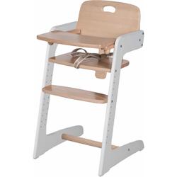 roba Hochstuhl Treppenhochstuhl, Kid Up weiß Baby Treppenhochstühle Hochstühle Babymöbel Stühle