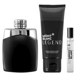 Montblanc Legend Geschenkset EDT 100 ml + 100 ml Aftershave Balm + EDT 7.5 ml