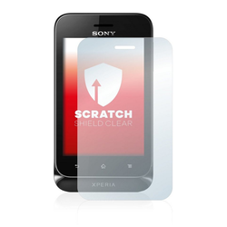 upscreen Schutzfolie für Sony Xperia Tipo ST21i, Folie Schutzfolie klar anti-scratch