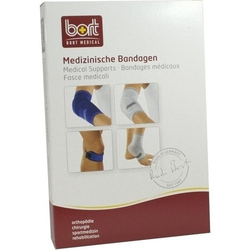 BORT KubiTal Ellenbogen-Polster-Bandage S blau 1 St