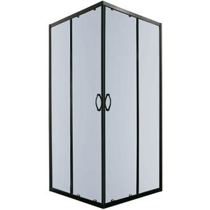 Duschkabine Eckeinstieg Schiebetür Duschabtrennung Duschwand Duschtempel 80 x 80