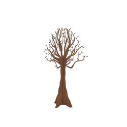BADEKO Metallbaum rost, selbststehend H100cm