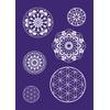 Rayher 45092000 Mandala Schablone, A4,