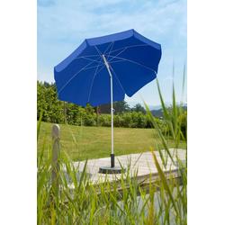 Schneider Schirme Sonnenschirm Ibiza, abknickbar, ohne Schirmständer blau