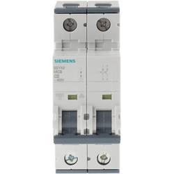 Siemens MCB 2 Pole Type C 10kA 2A 400V, Automatisierung