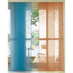 Vorhang, dynamic24, Klettband (1 Stück), Flächenvorhang Vorhang Gardine Raumteiler