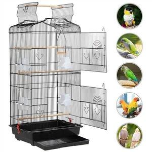 Vogelkäfig käfig Vogelvoliere Vogelhaus für Papagei Wellensittich Ständer