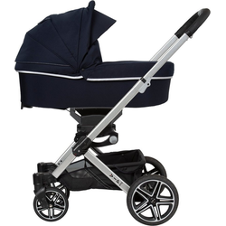 Hartan Kombi-Kinderwagen Vip GTX, mit Falttasche; Made in Germany blau
