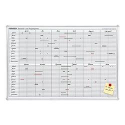 Planungstafel »Jahresplaner JK710, für die Projekt- und Personalplanung«, inkl., Franken