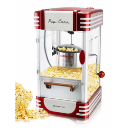 Emerio Popcornmaschine PO-120650 Popcorn-Maker im Retro-Design