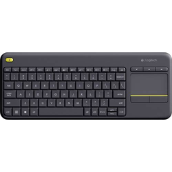 LOGITECH WIREL. KEYBOARD K400 PLUS BK
