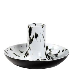 Cult Design Kerzenständer Spritzer schwarz