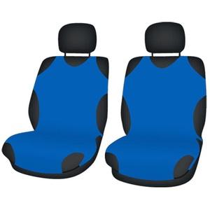 ZentimeX Z708602 Sitzbezüge Vordersitze T-Shirt-Design Baumwolle blau