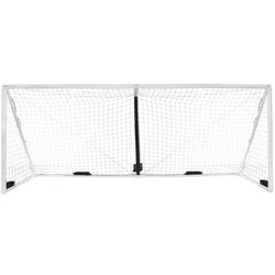 iGOAL Aufblasbares Fußballtor 732 x 244 cm weiß 732 x 244 cm - Weiß