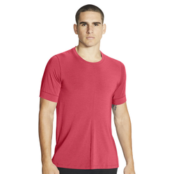Nike Yoga Dri-FIT Men's SS - T-Shirt - Herren Red S