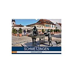 Schwetzingen - Ansichtssache (Wandkalender 2021 DIN A3 quer)