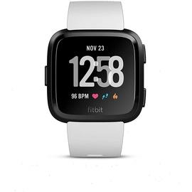 Fitbit Versa schwarz/weiß