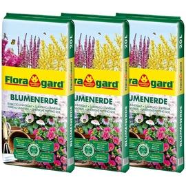 Floragard Blumenerde 3 x 20 l