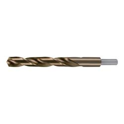 RUKO Spiralbohrer DIN 338 Typ N D 18,5mm Schaftdurchmesser 13mm HSS-Co5 abg.Schaft